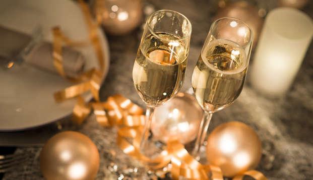 Verblijf in één van de Top hotels en geniet van een  Nieuwjaarsarrangement 5 gangen