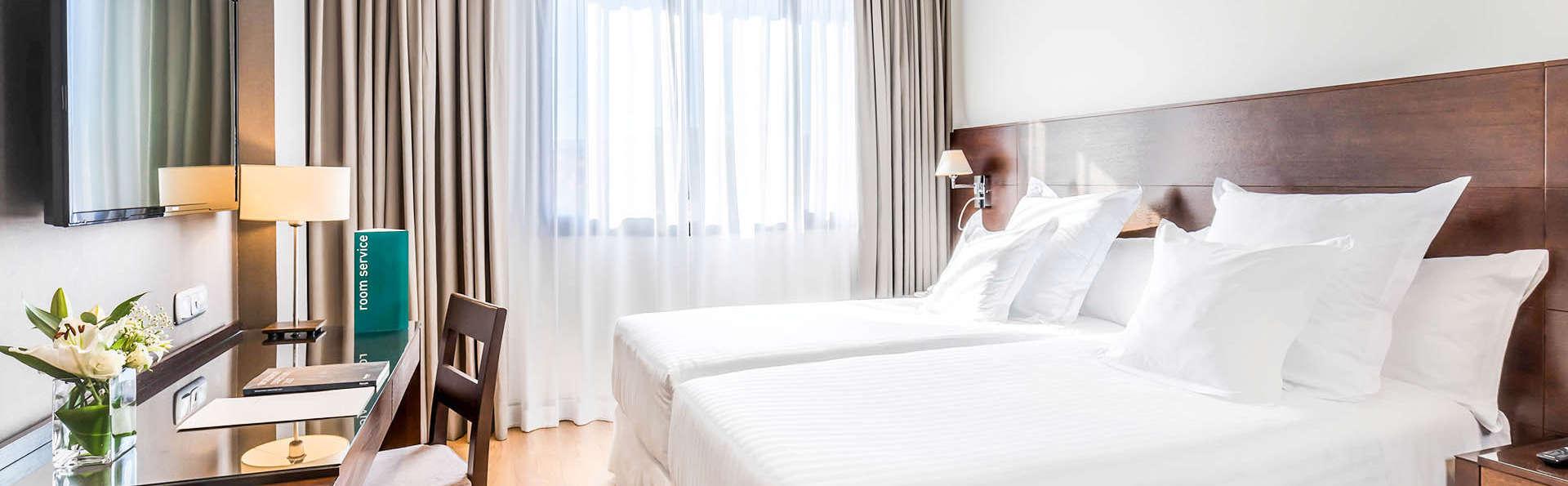 Hôtel 4 étoiles à Grenade en plein centre-ville avec parking inclus