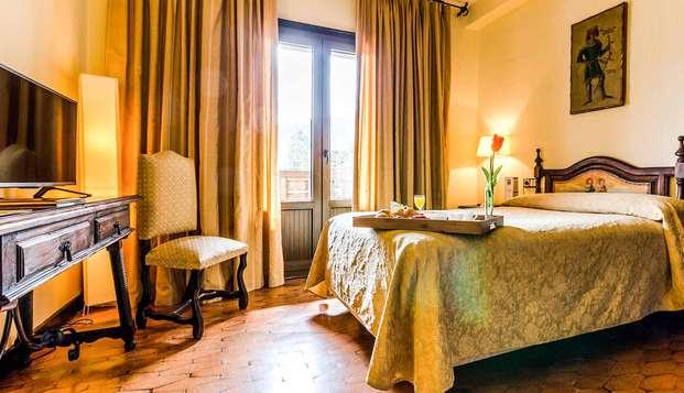 Escapada rural con detalles románticos en la habitación muy cerca de las Médulas del Bierzo