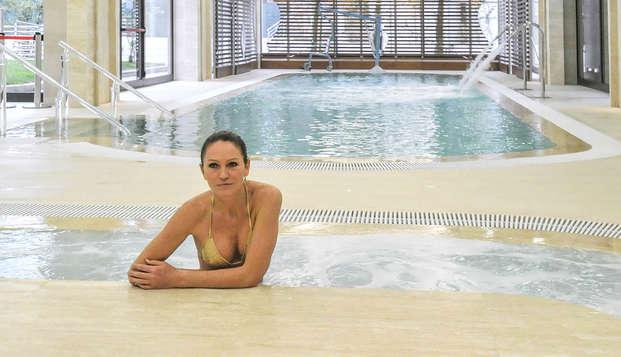 Relax en Montecatini con acceso al spa, masajes y media pensión