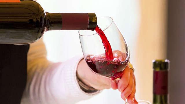Bicchiere di vino per 2 adulti