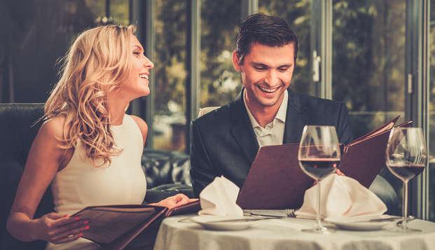 ¡Especial San Valentín para los más románticos: con cena gastronómica, acceso al spa y fiesta disco!