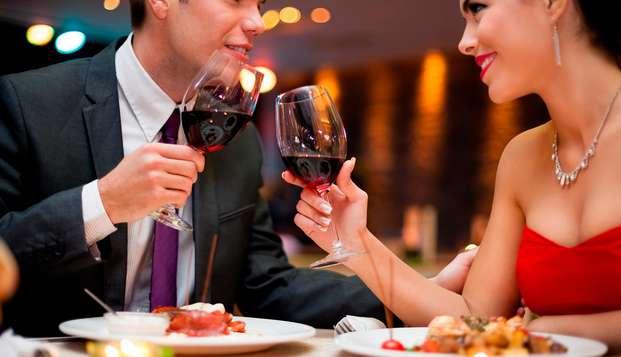 Weekend di San Valentino a Ragusa in hotel 4* e cena romantica in ristorante stellato