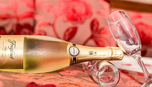 Week-end romantique avec dîner, bouteille en chambre et départ tardif à Milan