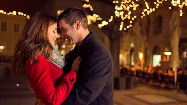 Romantiek is... culinair dineren bij kaarslicht en toosten op de liefde met bubbels (2nachten)