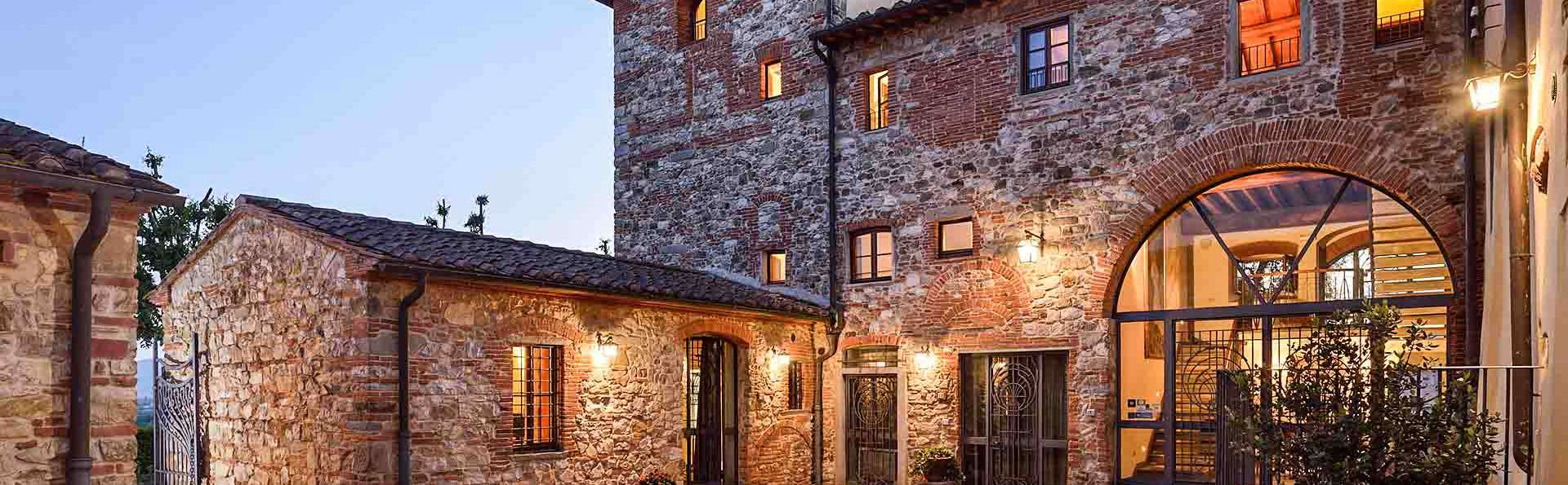 Week-end dans le Chianti, parmi les collines toscanes, dans un village médiéval