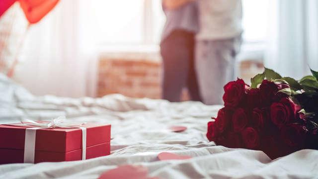 Escapada romántica en una suite con spa diurno o nocturno, tratamiento a elegir y cena gastronómica