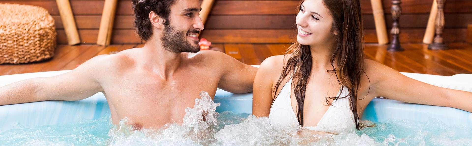 Relax total en pareja con Spa Privado y cóctel en pleno Montseny (Adults Only)