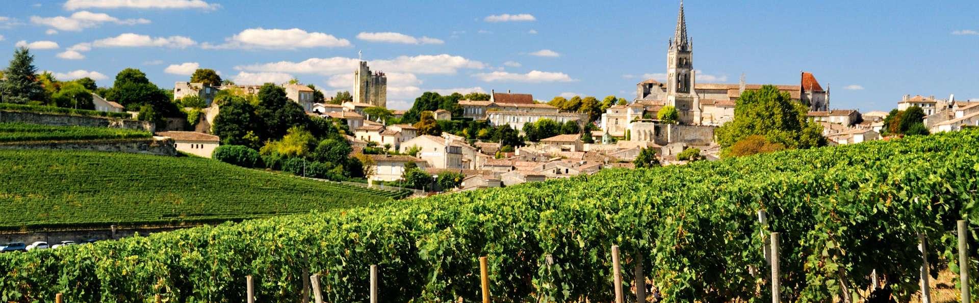 A la découverte des vins et de la cité médiévale de Saint-Emilion