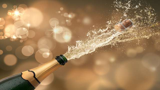 Benjamín (Media botella) de champán