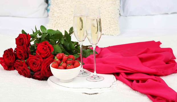 Profitez d´un dîner 4 services et terminez votre soirée en apothéose avec notre Love Box.