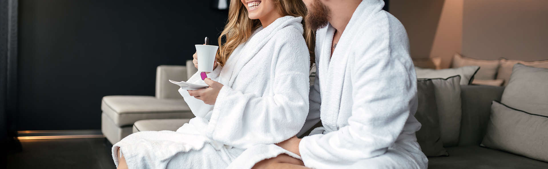Week-end romantique et détente en amoureux dans le sauna et le jacuzzi privés (à partir de 2 nuits)