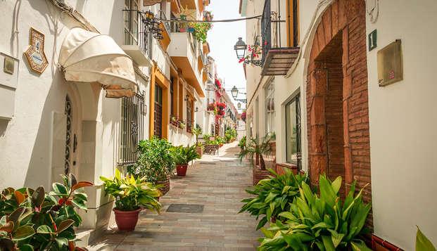 Séjour de luxe à proximité de la côte andalouse de Marbella