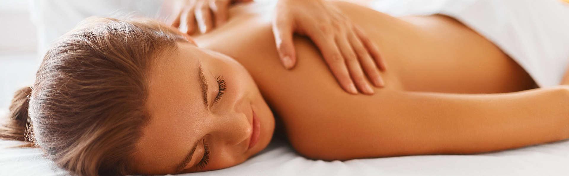 Relájate con un masaje y brinda con cava en Elche