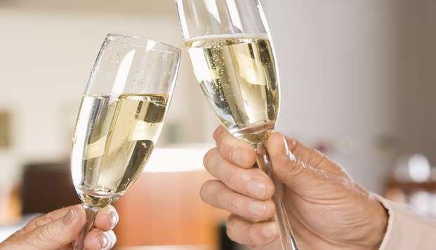 ¡Celebra el mes del amor en Hyères con macarons y champán!