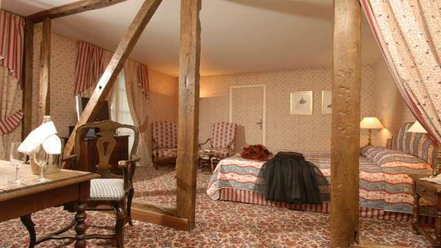 1 nuit en chambre double deluxe Vue jardin pour 2 adultes