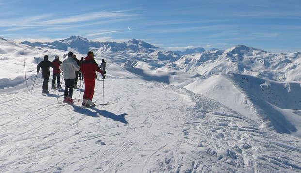 Profitez d'un séjour au cœur de la montagne avec forfait de ski et accès au spa