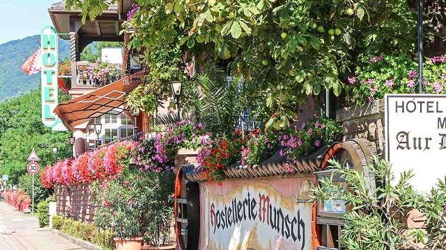 Séjour en chambre supérieure en Alsace