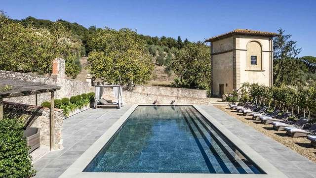 Ontspanningsweekendje in de groene heuvels van Florence tussen Chianti en Valdarno