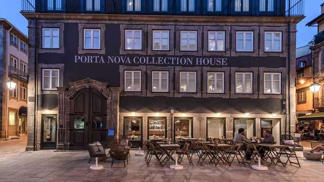 Escapada con desayuno en la ciudad más antigua de Portugal desde un hotel emblemático de Braga