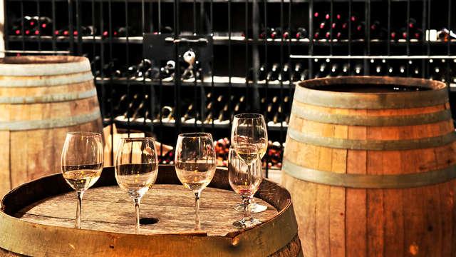 Lujo y enología en un 4* de Logroño con visita a bodega y cata de vinos