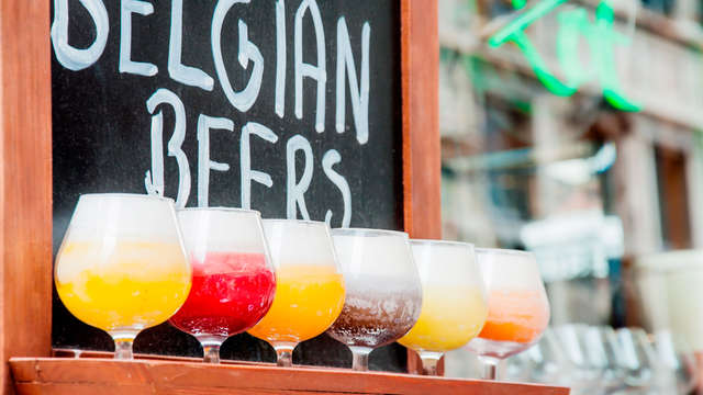 Plongez dans l'univers de la bière avec dégustation sur les bords de l'Ourthe