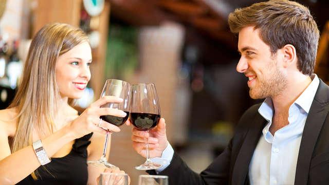 Soggiorno romantico in Veneto in Junior Suite con cena e late check-out