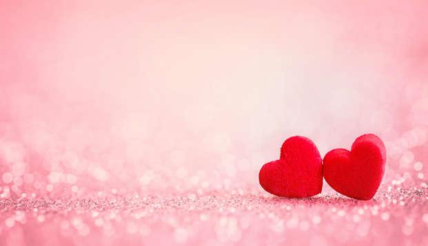 Spéciale Saint-Valentin : romantisme à Alcoy, avec dîner spécial, musique en direct et jacuzzi