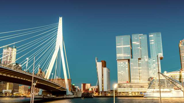 Citytrip Rotterdam met toegang tot wellnessresort Elysium