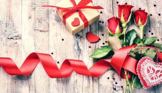 Février, mois de l'Amour : escapade romantique dans un 4* avec dîner buffet, fête et bien plus encore