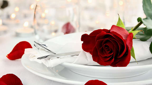Celebra San Valentín en un 4*: con cena especial, sesión de Spa y detalle romántico