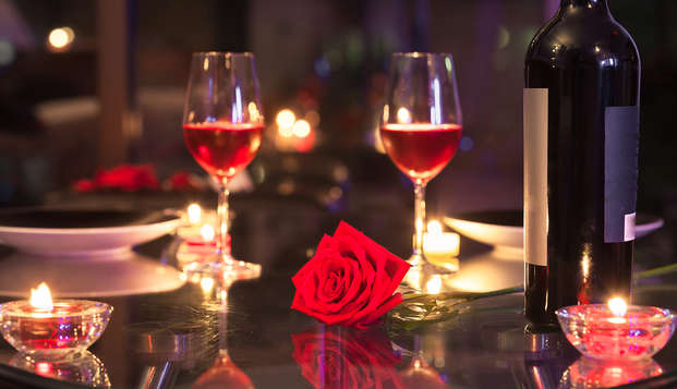 San Valentín en la Ribera del Duero: cena especial, spa, bar con dj en un hotel encantador