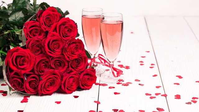 San Valentino a Porto Ercole in Suite con vasca idromassaggio, accesso spa e bottiglia di benvenuto