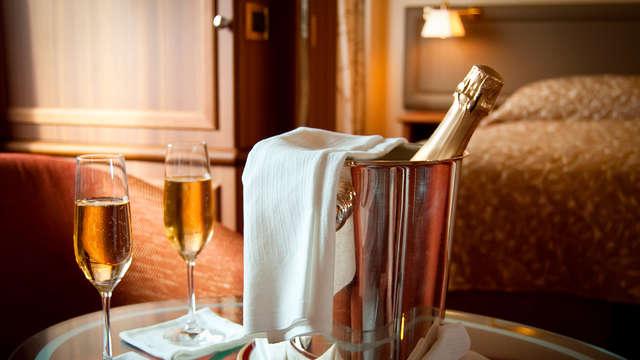 Vier de liefde met een romantisch diner en spa