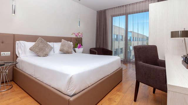 Escapada romántica y relax con sauna, baño de vapor y duchas contraste a un paso de Barcelona