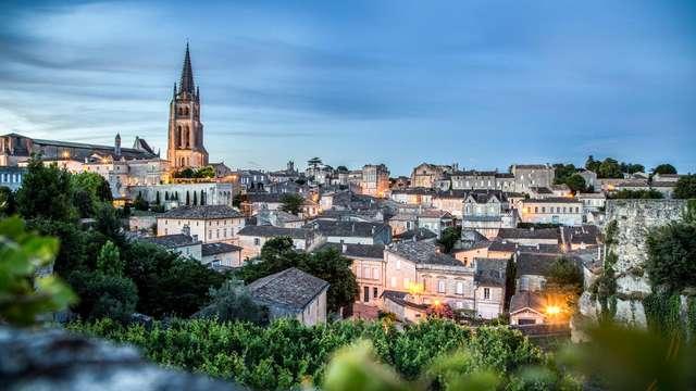 Échappée 3 étoiles avec petit déjeuner inclus à proximité de Bordeaux