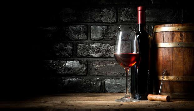 Regálate una escapada en una Suite con degustación de vinos típicos de la Maremma toscana