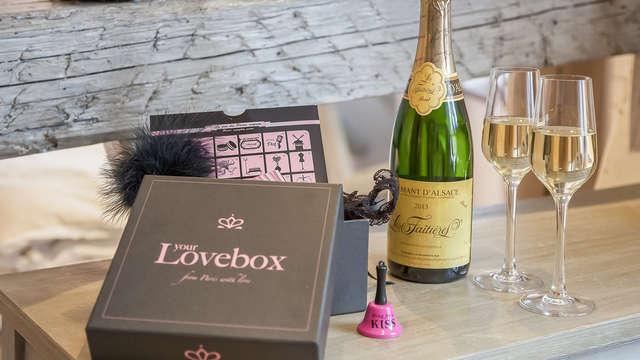 Lovebox, champán y bombones: combinación ideal para un San Valentín en Saint Raphäel