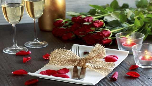 Fêtez la Saint Valentin dans la Cité des Papes avec un délicieux dîner !