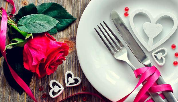 Dîner romantique à l'Infini et détente pour la Saint-Valentin