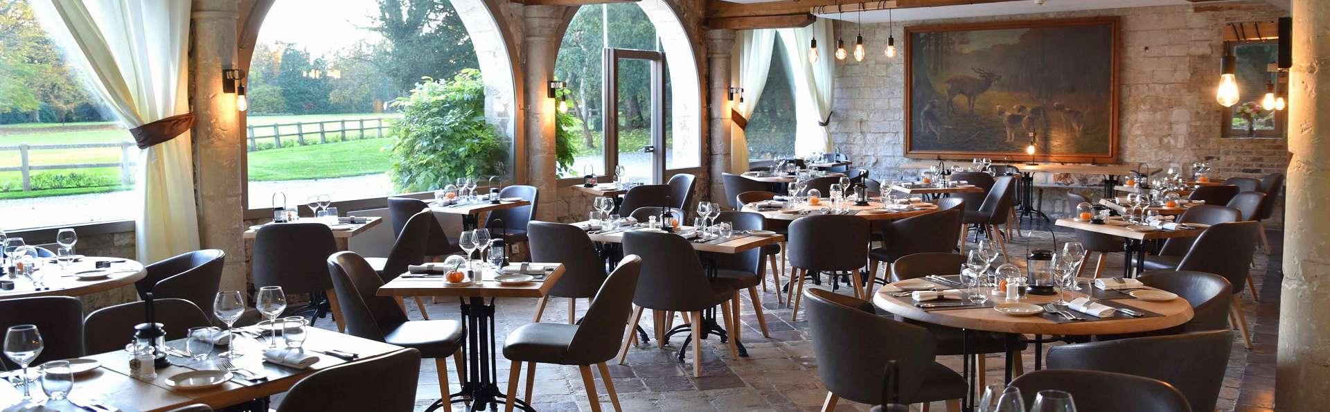 Escapade royale avec dîner près de Saint-Omer