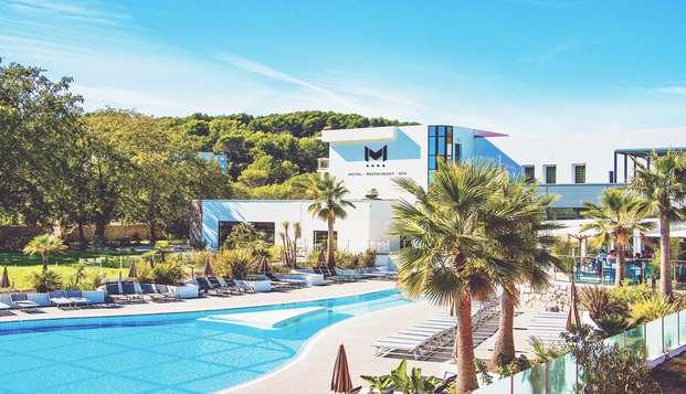 Relaxation dans un Resort et son spa 5 Mondes aux portes d'Antibes