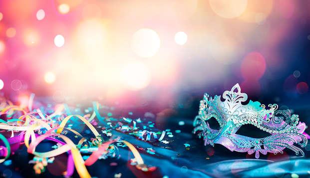 Celebra Carnaval con cena tradicional gallega, concurso de disfraces y Spa a elegir