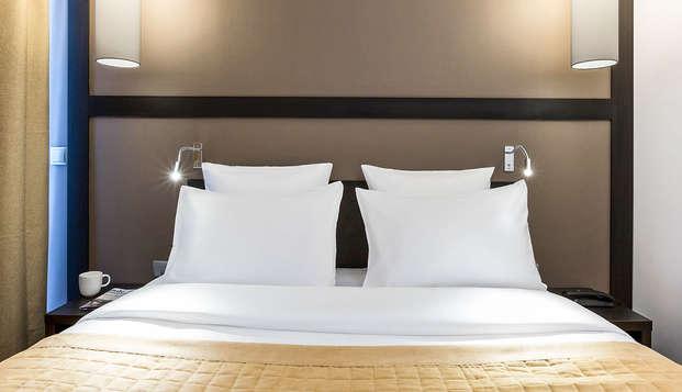 Pause épurée et romantique avec Lovebox dans un hôtel contemporain en plein cœur de Paris