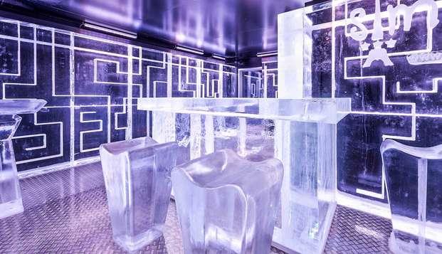 Nuit et découverte insolite avec Ice Bar dans le 18ème