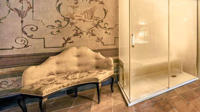 Romanticismo nel Castello di Limatola: notte in Suite con Jacuzzi e Hammam in camera e cena