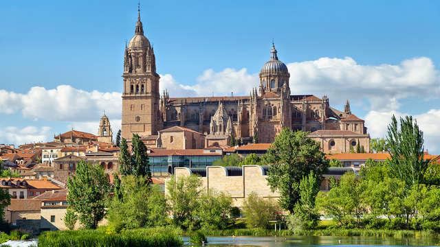 Descubre Salamanca desde un hotel muy cerca del centro y una botella de cava