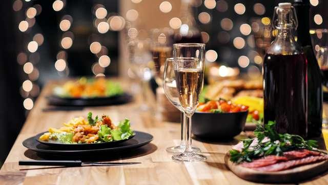 Gastronomía y Relax en Toledo: escapada con cena y acceso de 2 horas al circuito hidrotermal