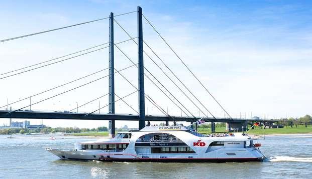 Escapada de fin de semana a Dusseldorf con paseo en barco por el río (desde 2 noches)