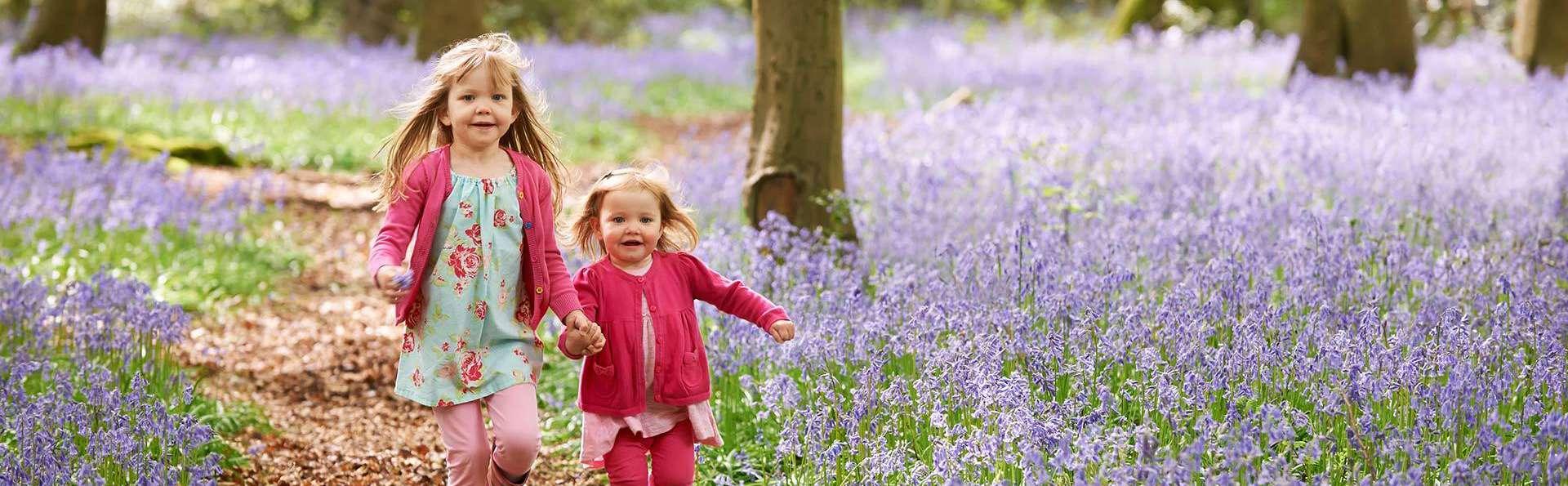 Partez à la chasse au trésor avec les enfants dans la forêt de Peer